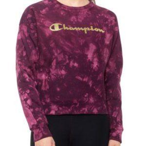 🆕 Champion Scrunch Tie Dye Crewneck Sweatshirt
